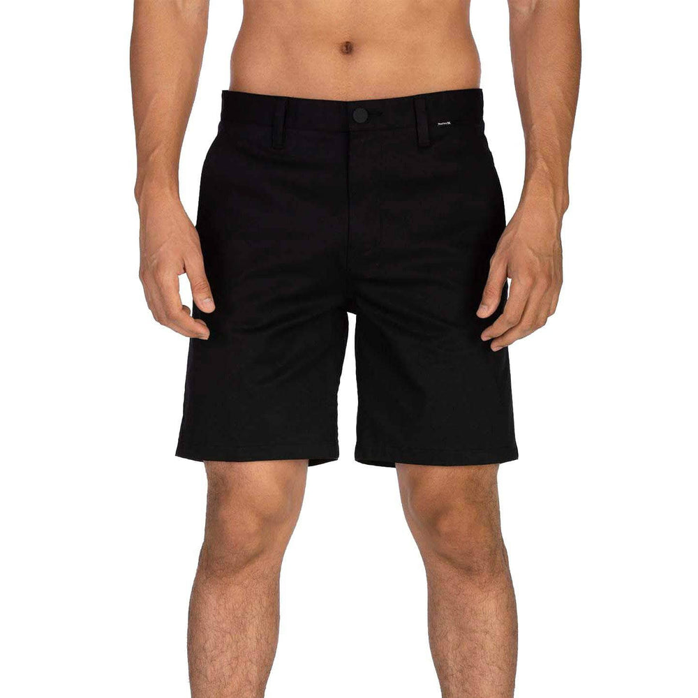 "Hurley One & Only Stretch Chino 19"" Walkshort Black Mens Boardshorts by Hurley"