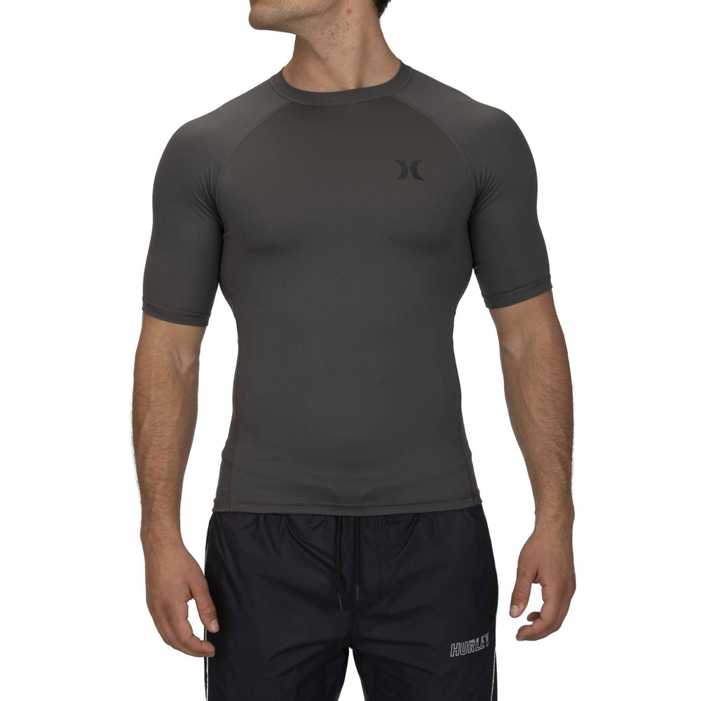 Hurley Pro Light S/S Rashguard Top - Iron Grey
