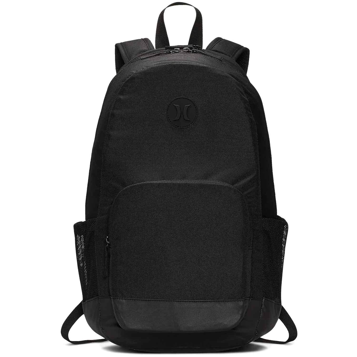 Hurley Renegade II Solid Backpack - Black - O/S (one size)