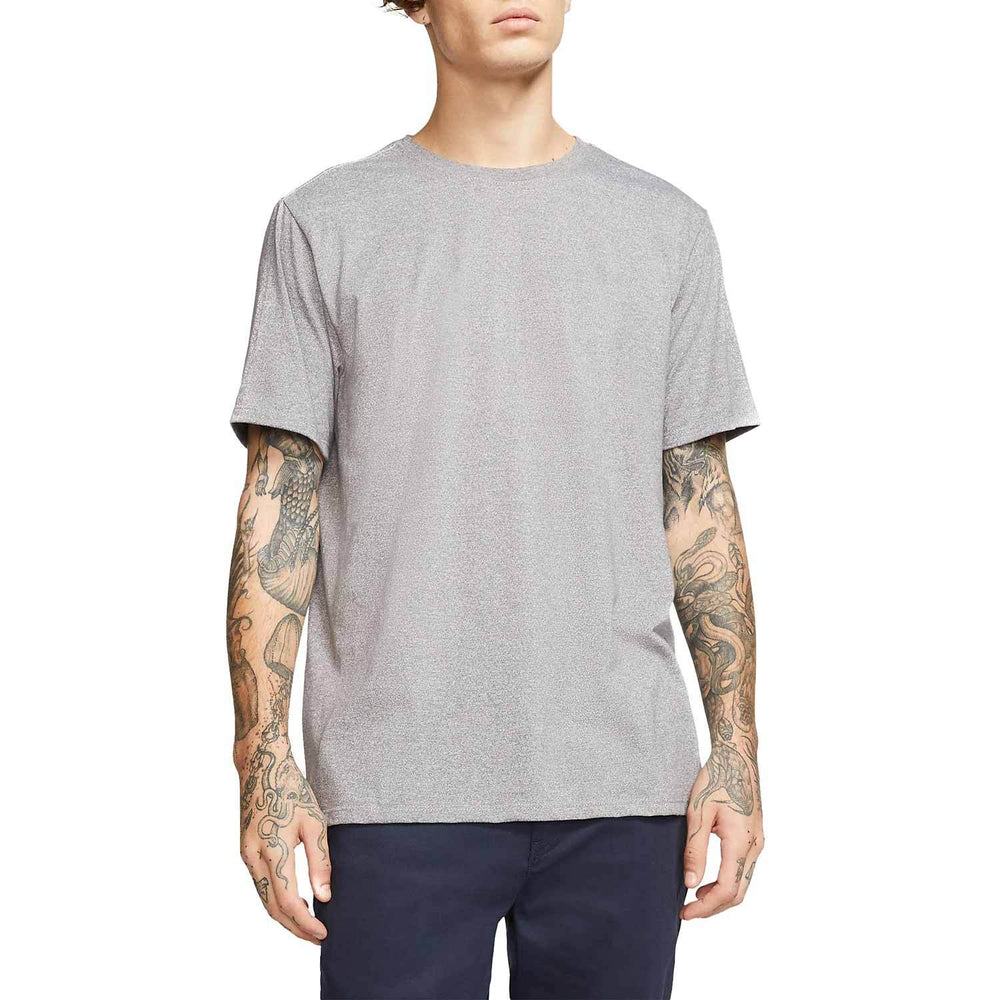 Hurley Siro Staple Crew T-Shirt - Dark Grey Heather