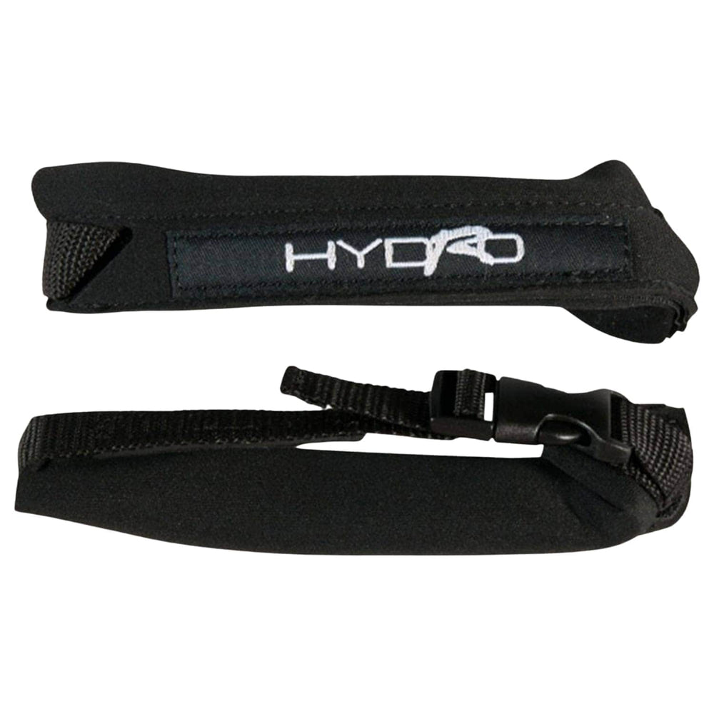 Hydro Deluxe Flipper/Fin Savers - Black - Bodyboard Flippers/Swim Fins by Hydro