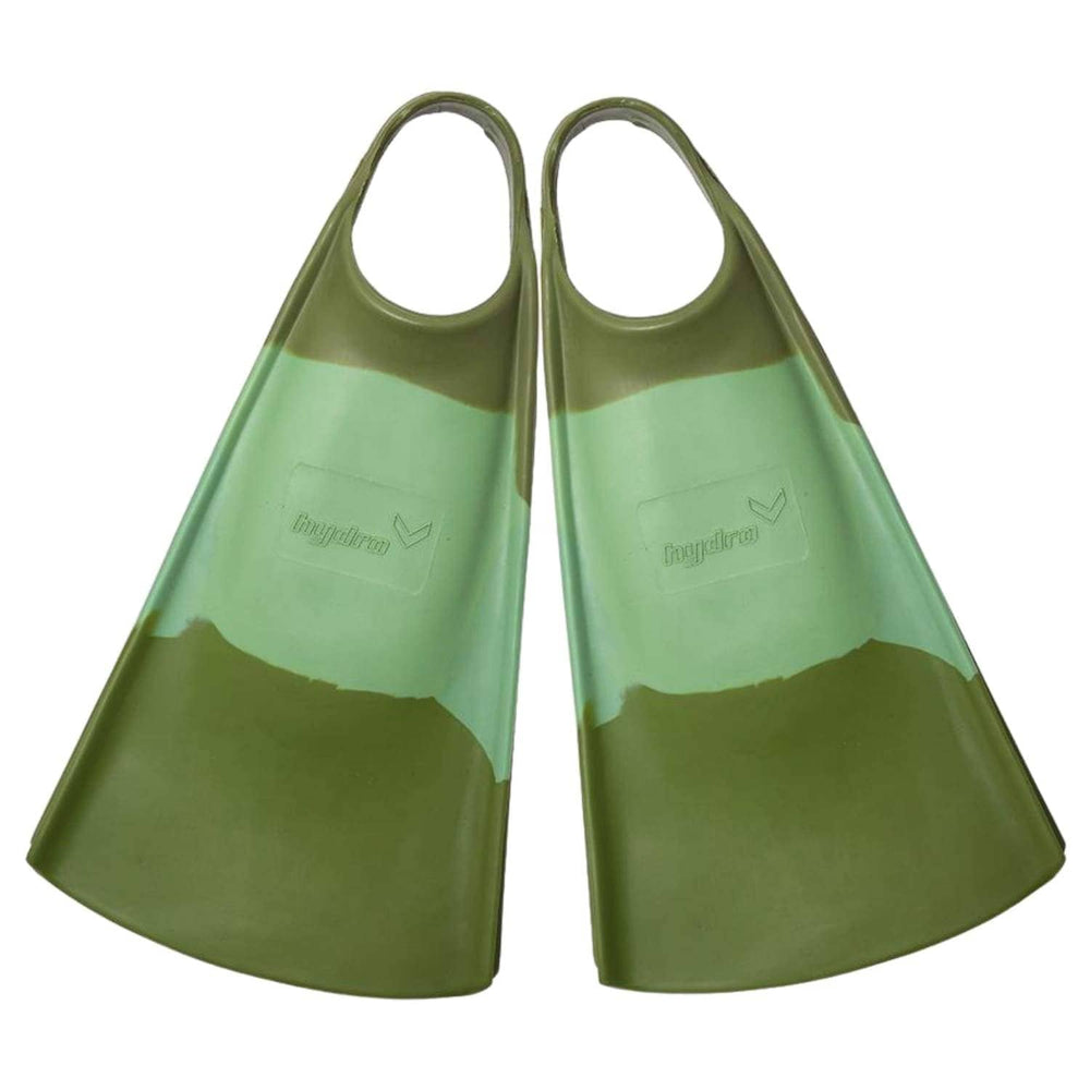 Hydro The O.G Original Bodyboard / Swim Fins Green/Olive - Bodyboard Flippers/Swim Fins by Hydro