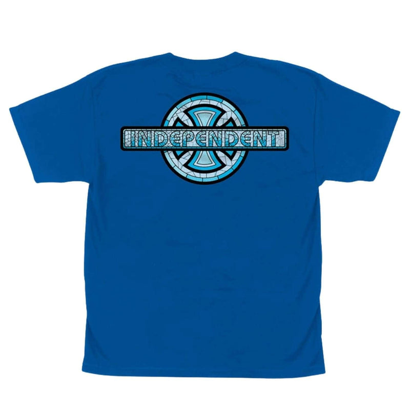 independent-youth-stained-glass-kids-tshirt-royal