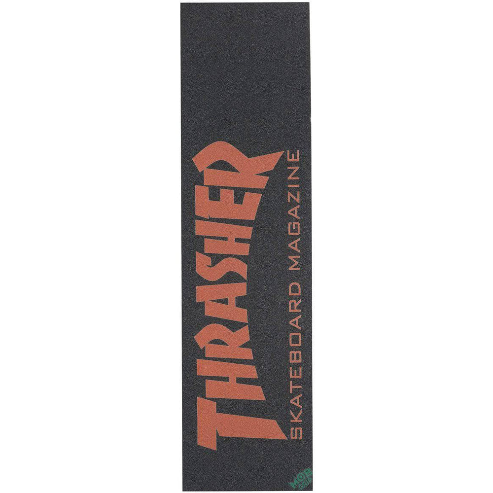 Mob Grip Thrasher Skate Mag Griptape - Red - O/S (one size) Skateboard Grip Tape by Mob Grip