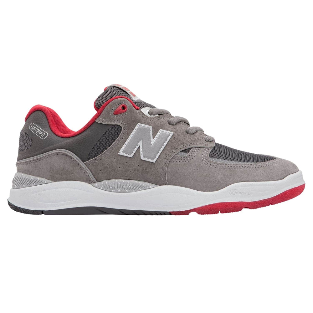 New Balance Numeric NM1010 Tiago Lemos Skate Shoes - Grey / Red