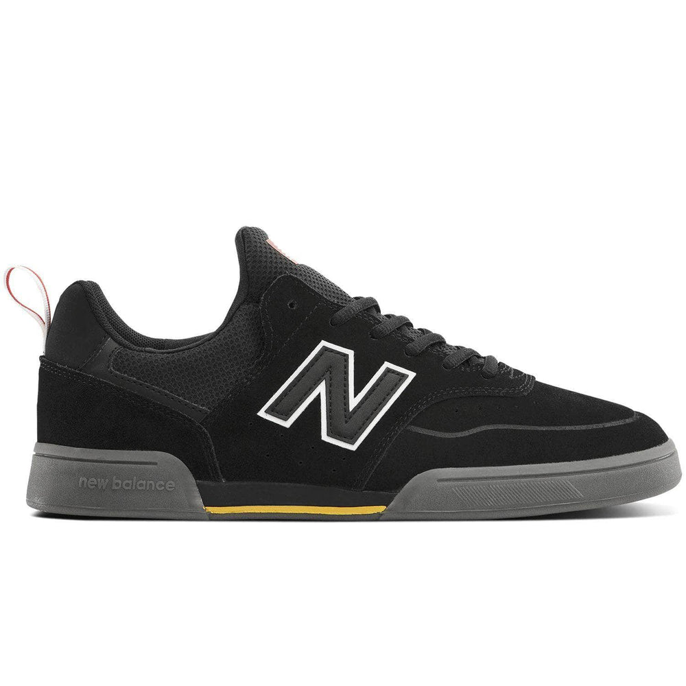 New Balance Numeric NM288S Jack Curtin Skate Shoes - Black/Grey Mens Skate Shoes by New Balance Numeric