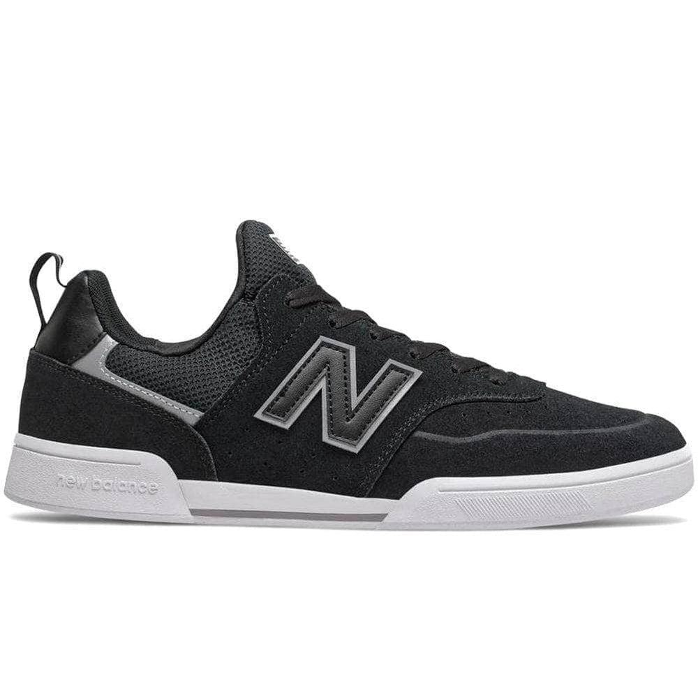 New Balance Numeric NM288S Sport Skate Shoes Black White Mens Skate Shoes by New Balance Numeric