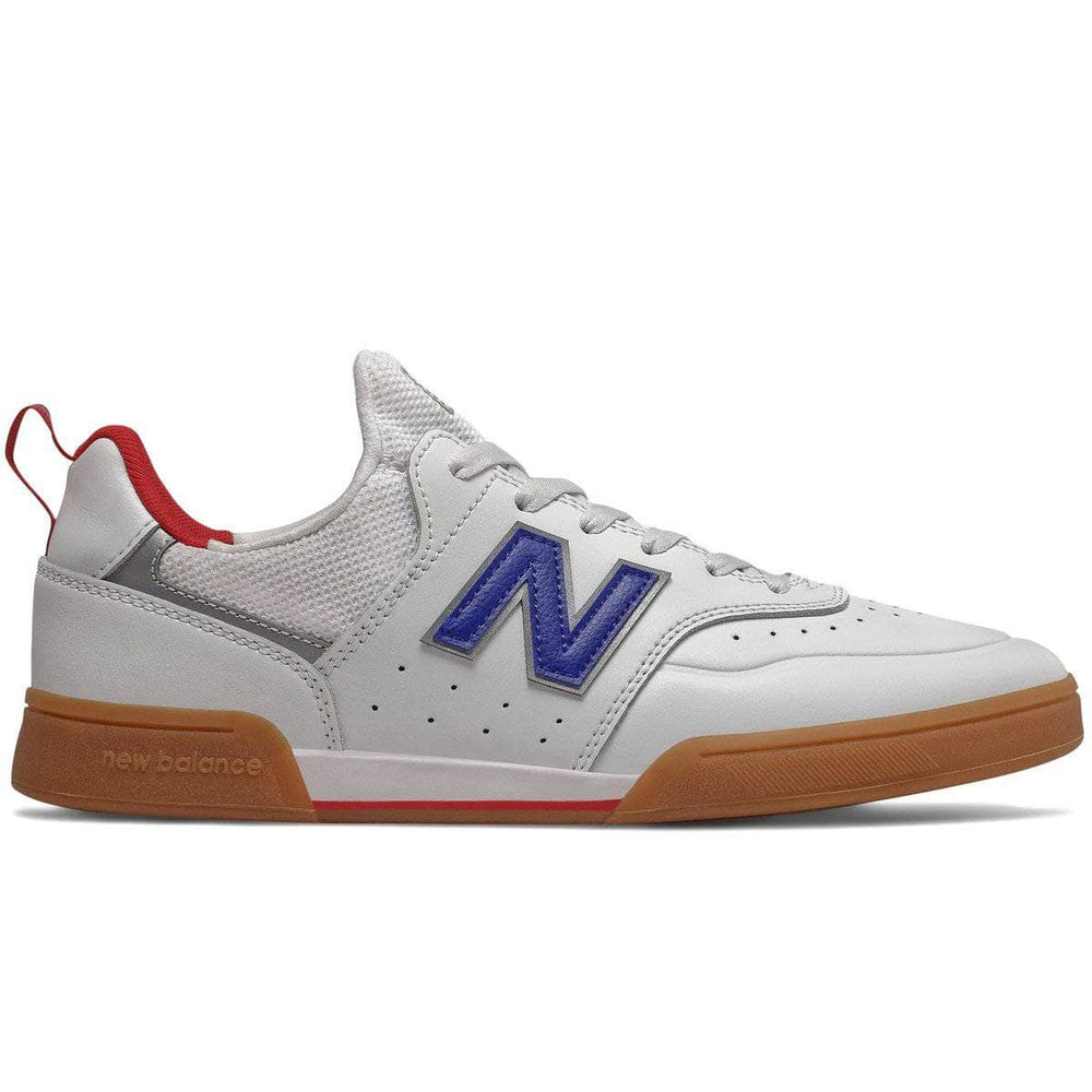 New Balance Numeric NM288S Sport Skate Shoes White Royal Blue Mens Skate Shoes by New Balance Numeric