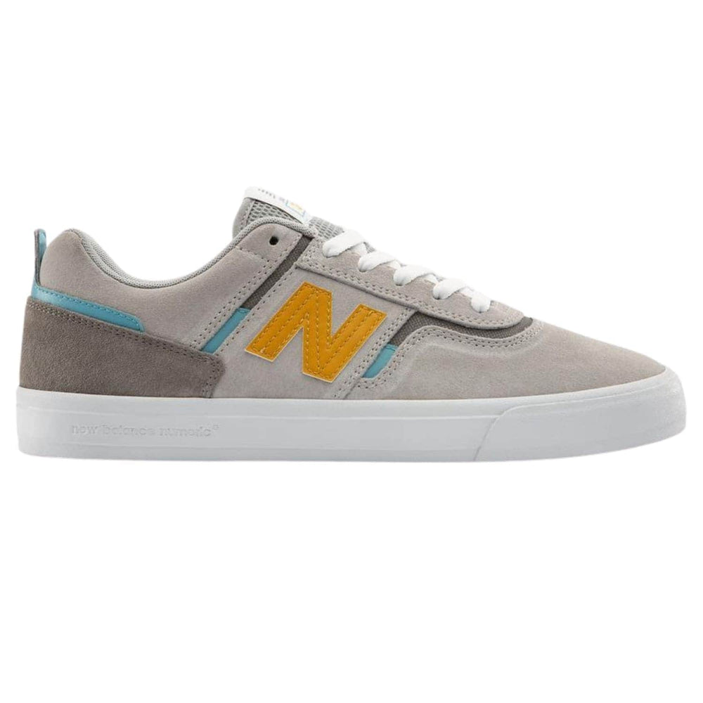 New Balance Numeric NM306 Jamie Foy Skate Shoes Grey / Yellow - Mens Skate Shoes by New Balance Numeric