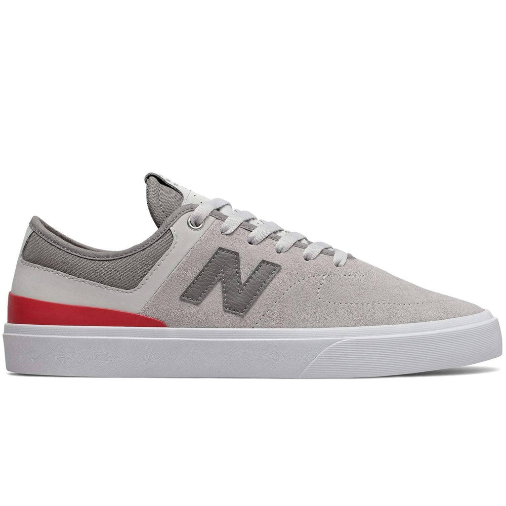 New Balance Numeric NM379 Skate Shoes Grey Red Mens Skate Shoes by New Balance Numeric