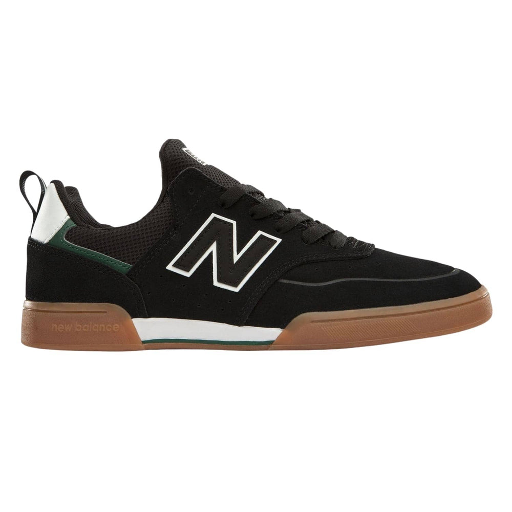 New Balance Numeric NM288S Sport Skate Shoes Black/Green - Mens Skate Shoes by New Balance Numeric