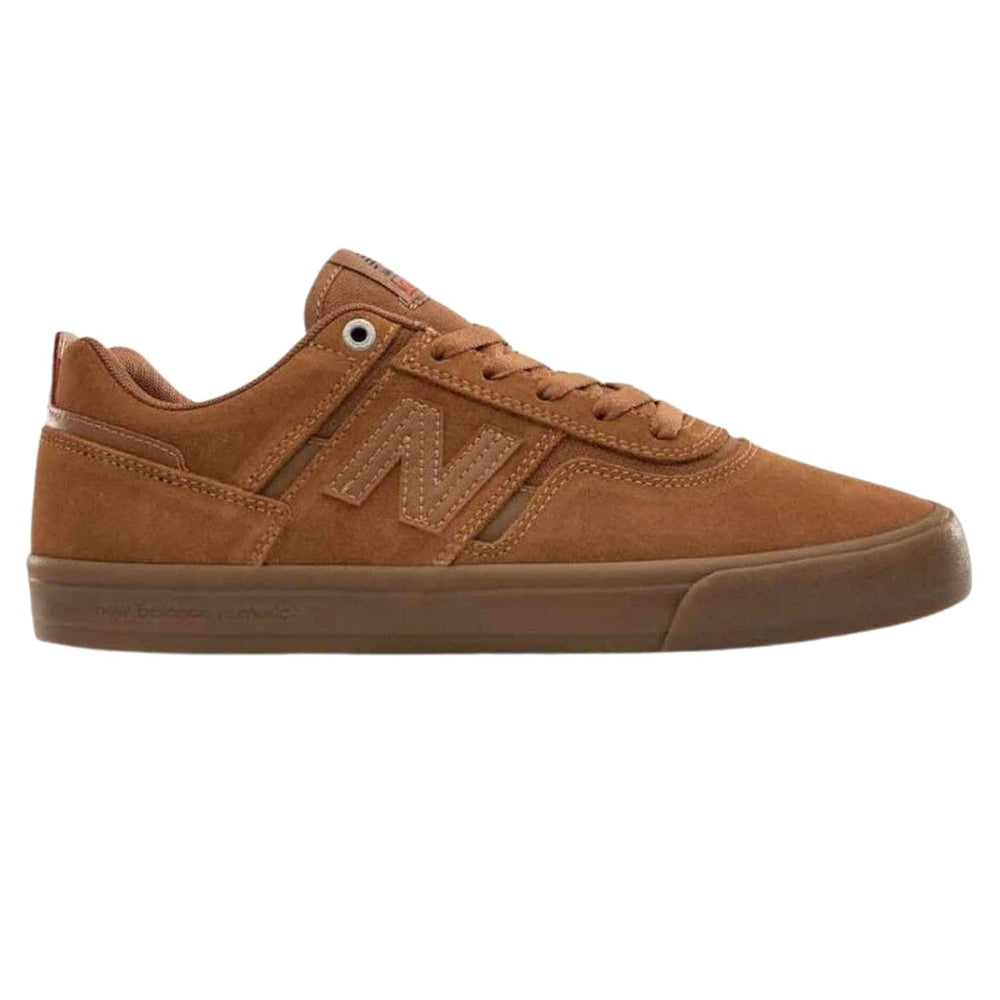 New Balance Numeric NM306 Jamie Foy Skate Shoes Deathwish - Cinnamon/Brown - Mens Skate Shoes by New Balance Numeric