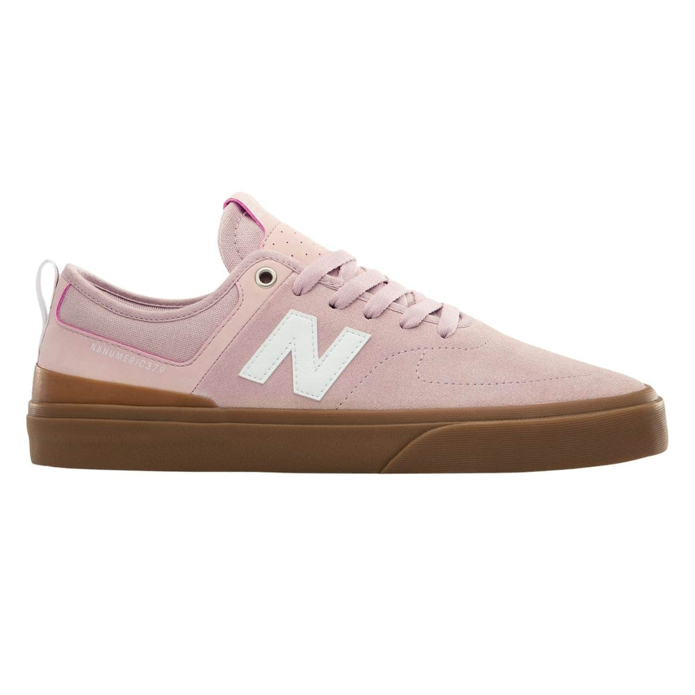 New Balance Numeric NM379 Skate Shoes Pink/Gum - Mens Skate Shoes by New Balance Numeric