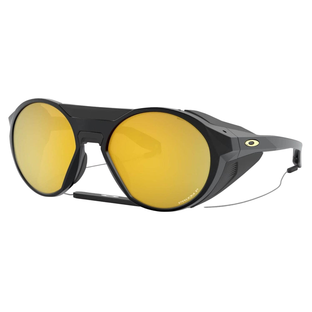 Oakley Clifden Sunglasses - Matte Black/Prizm 24k Polarized