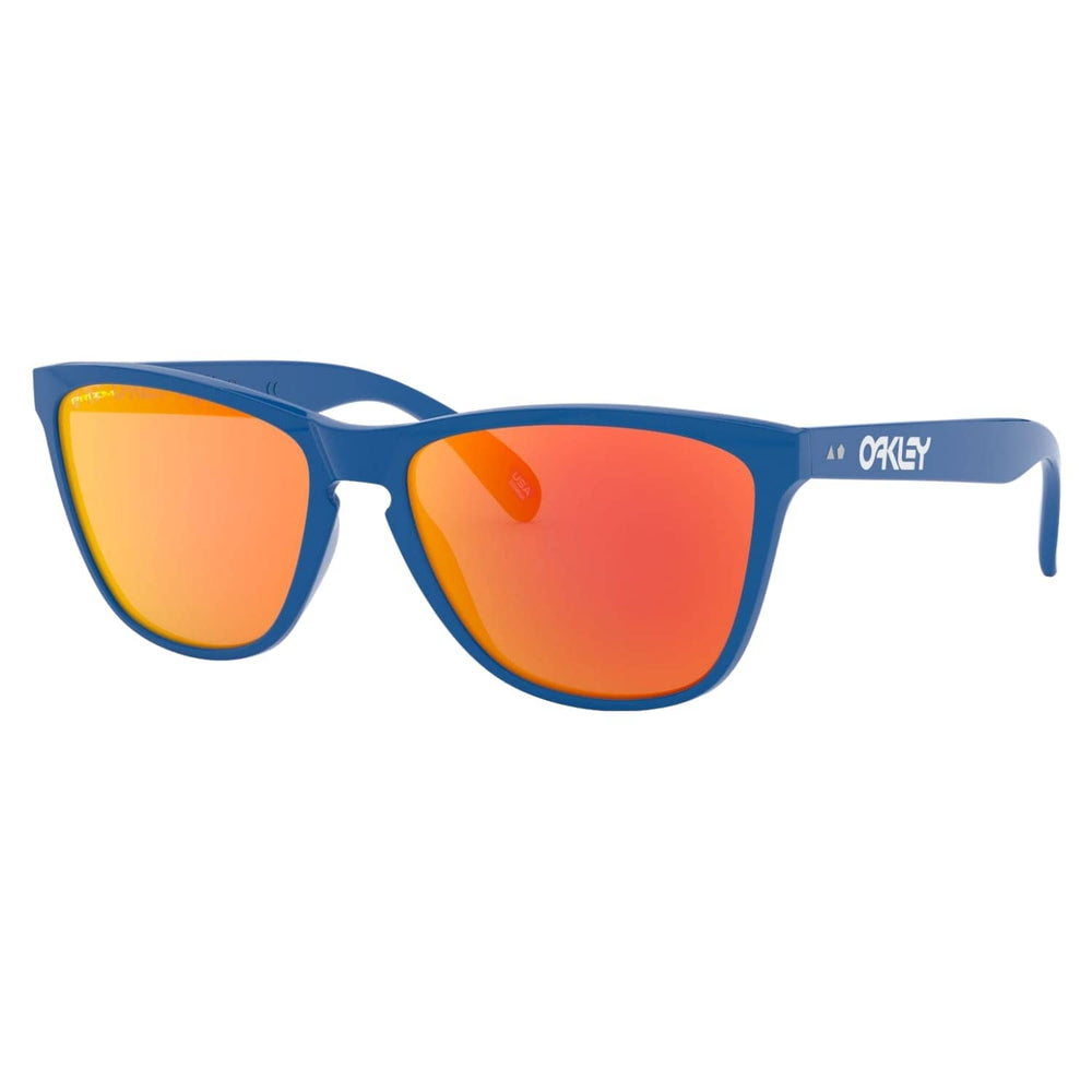 Oakley Frogskins 35th Sunglasses Primary Blue - Prizm Ruby N/A - Square/Rectangular Sunglasses by Oakley