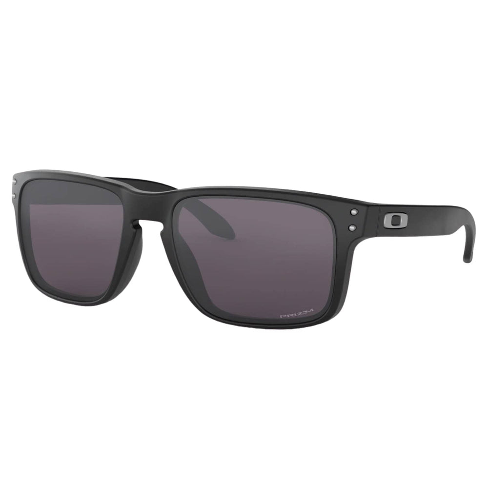 Oakley Holbrook Sunglasses Matte Black - Prizm Grey N/A - Square/Rectangular Sunglasses by Oakley