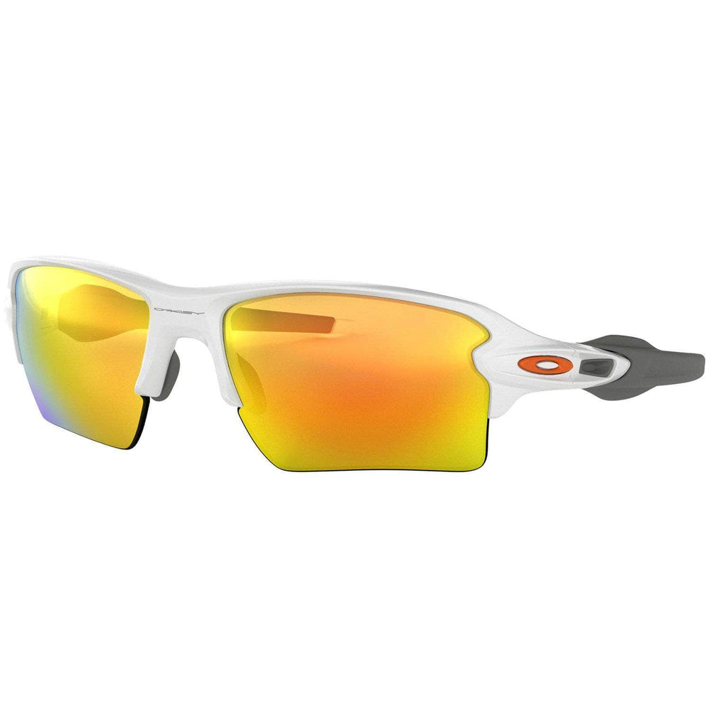Oakley Oakley Flak 2.0 XL Sunglasses - Polished White/Fire Iridium