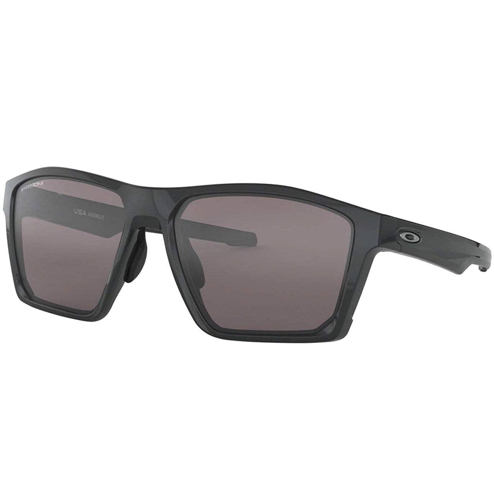 Oakley Targetline Sunglasses - Carbon/Prizm Black Square/Rectangular Sunglasses by Oakley O/S (one size)