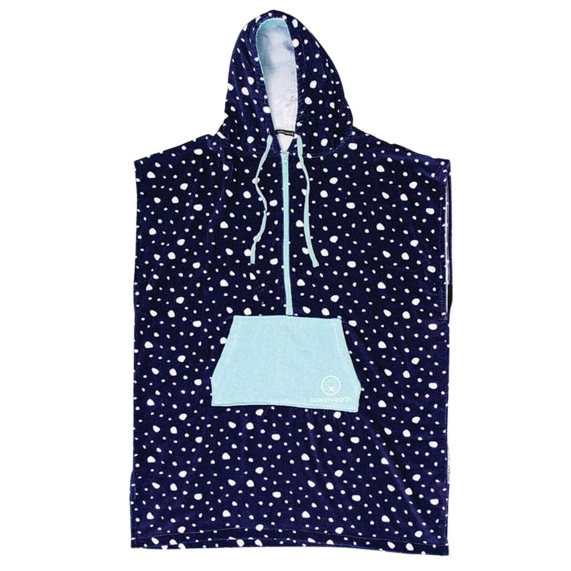 oceanandearth-ladies-front-zip-hooded-poncho-navy