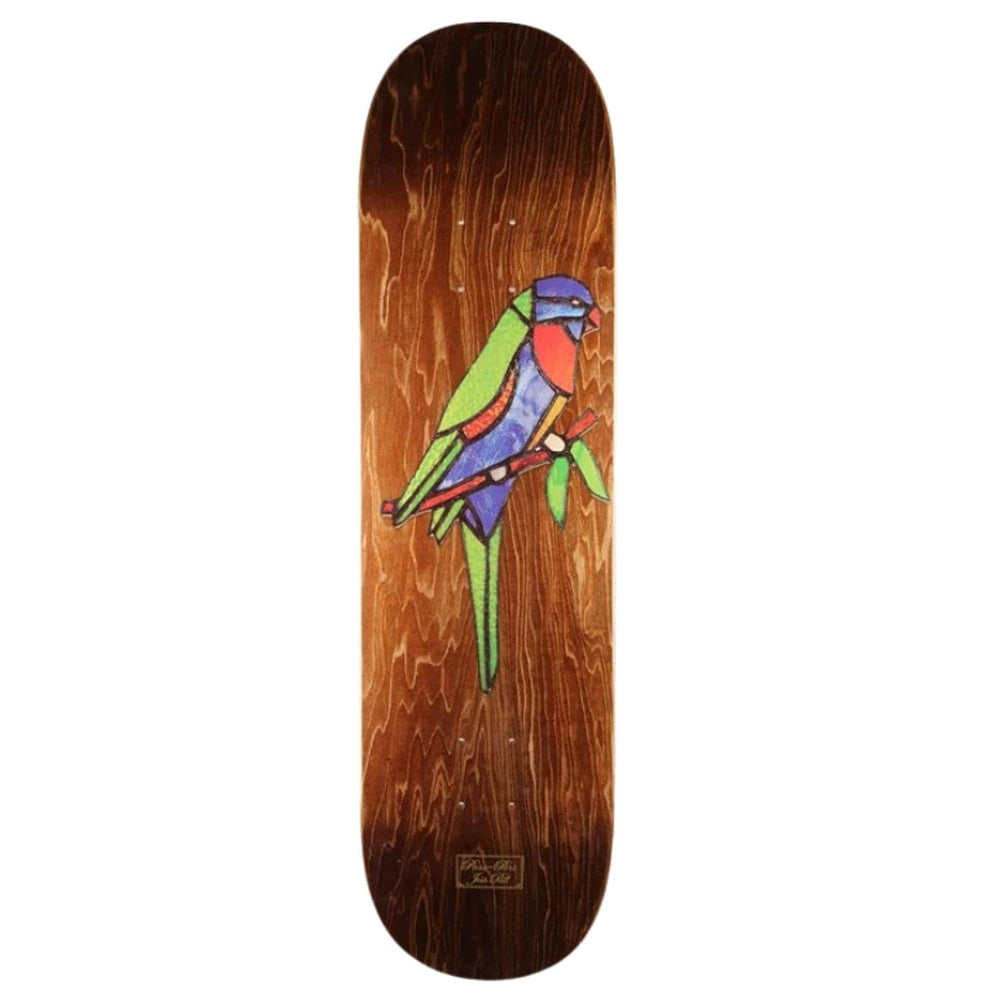 Pass-Port Josh Pall Lori Stained Glass Deck Stained 8.38in - Skateboard Deck by Pass-Port 8.38in