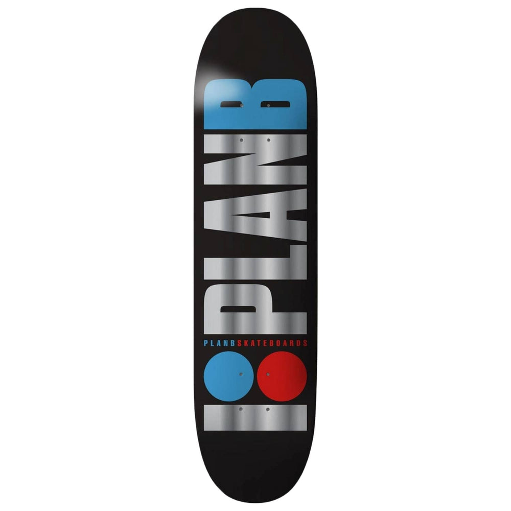 Plan B Team OG Foil Skate Deck - Multi - 8.25in
