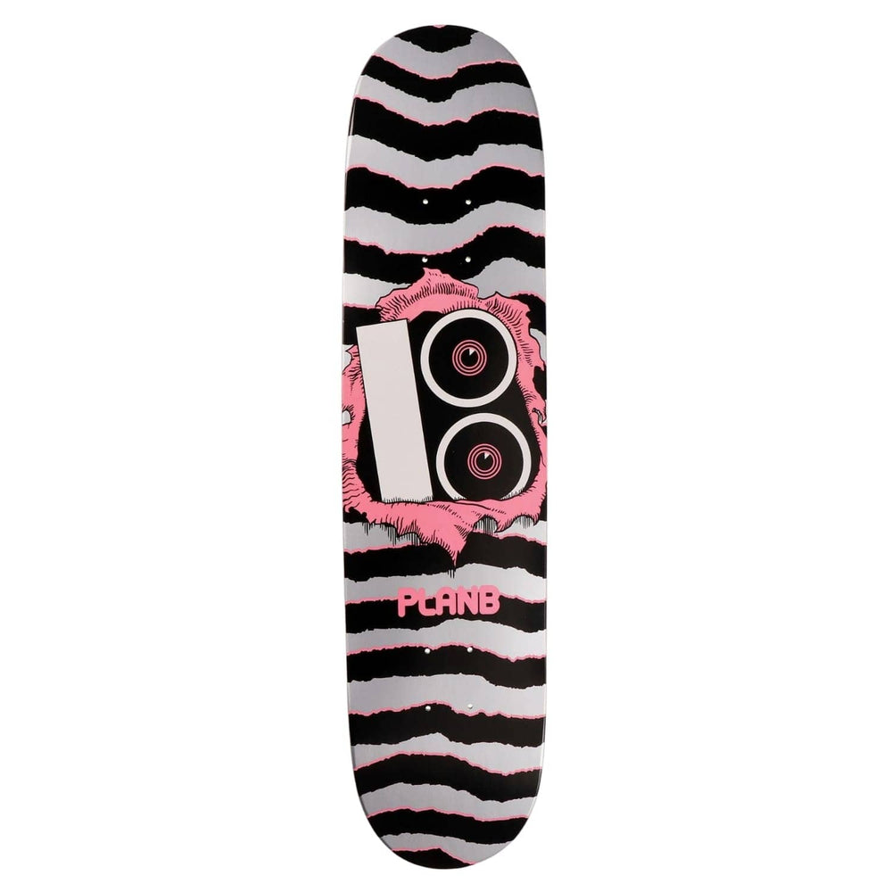 Plan B Team Torn Skate Deck - Multi - 7.75in