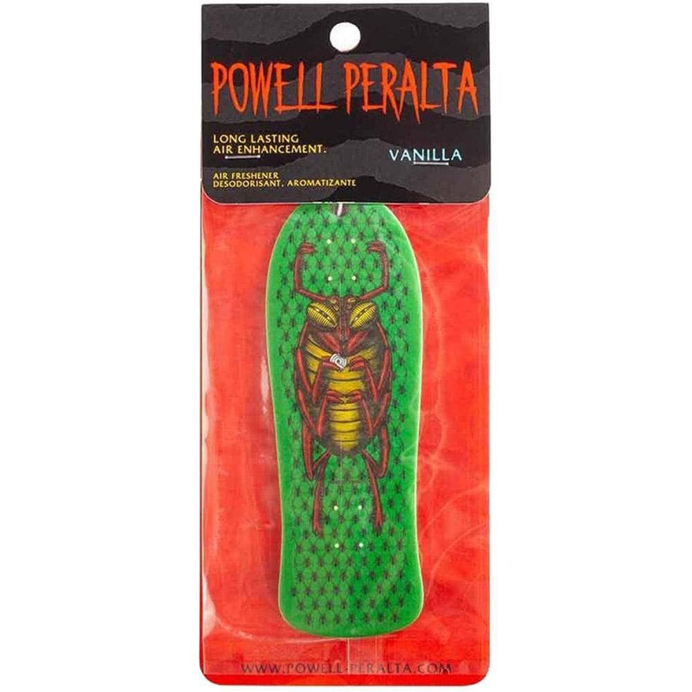 Powell Peralta OG Bug Air Freshener - Vanilla Green Car Air Freshener by Powell Peralta