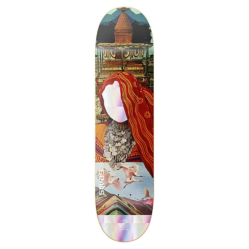 Primitive Miles Silvas Voyager Skate Deck Multi 8.125in - Skateboard Deck by Primitive