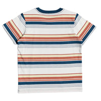 Quiksilver Boys Maio Boarder T-Shirt Redwood Maio Boarder - Boys Surf Brand T-Shirt by Quiksilver