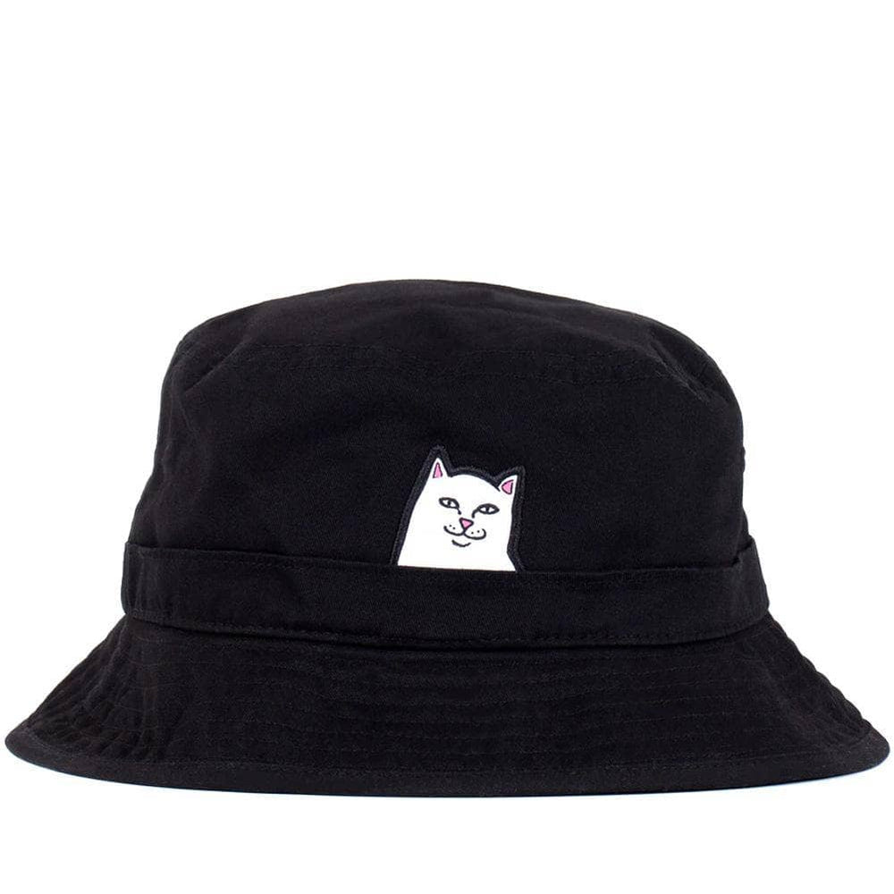 Rip N Dip Lord Nermal Bucket Hat Black O/S (one size) Bucket Hat by Rip N Dip