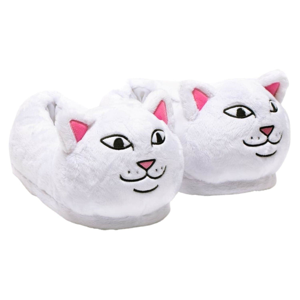 Rip N Dip Lord Nermal Slippers - White