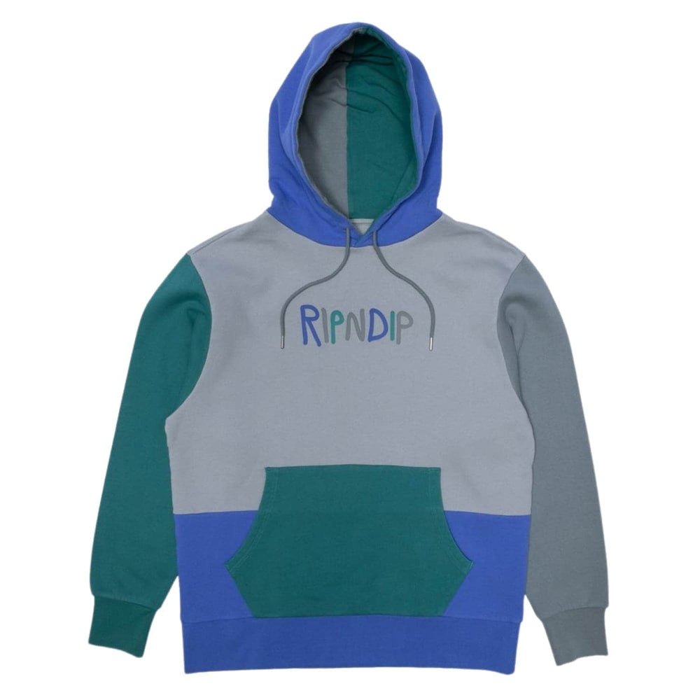Rip N Dip RND Colour Block Hood Multi - Mens Pullover Hoodie by RIPNDIP