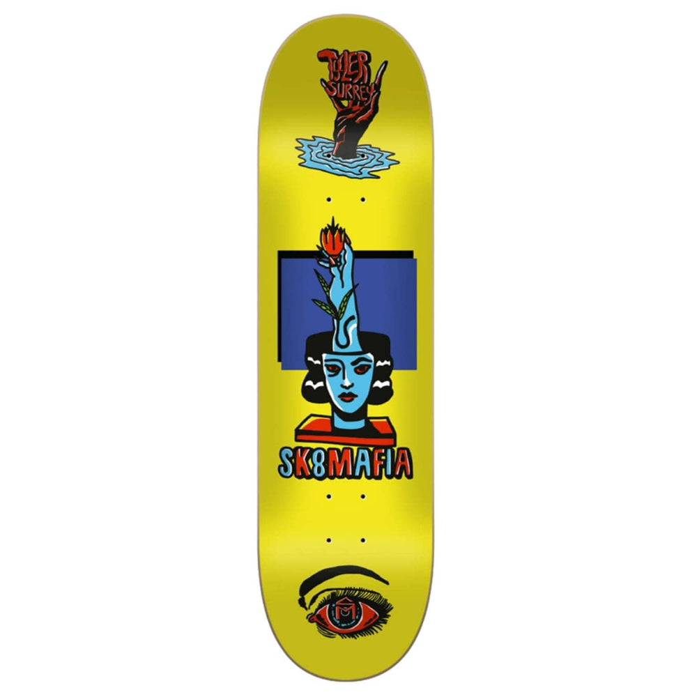Sk8 Mafia Tyler Surrey Ward Skate Deck - Lime - 8.3in - Skateboard Deck by Sk8 Mafia