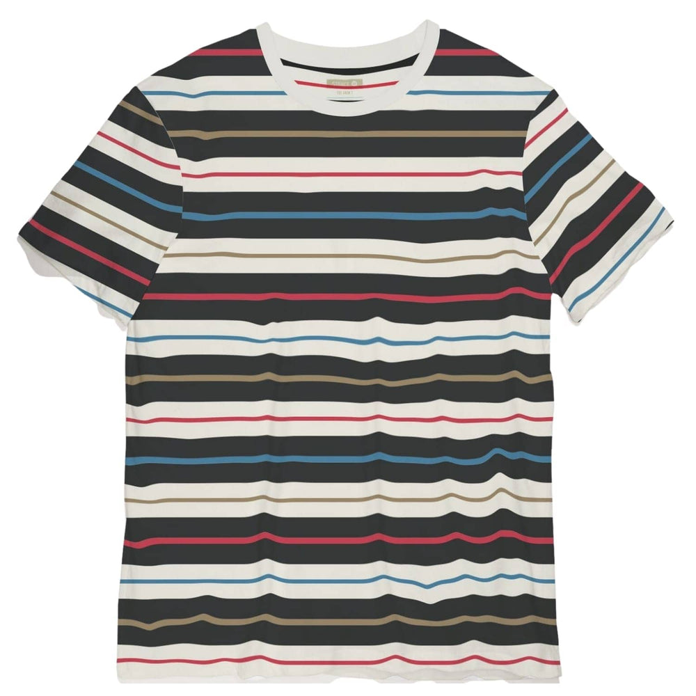 Stance Barred T-shirt Multi - Mens Plain T-Shirt by Stance