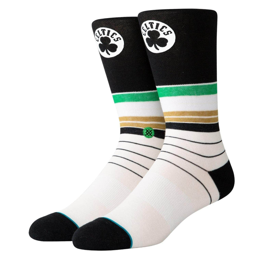 Stance Celtics Baseline Socks - Multi - Mens Crew Length Socks by Stance