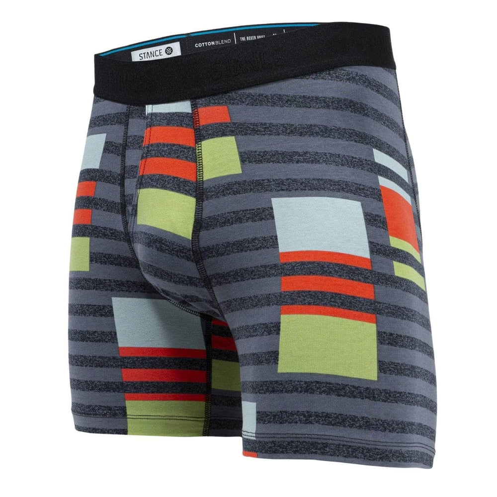 Stance Consistency Boxer Brief - Charcoal - Mens Boxer Briefs Underwear by Stance