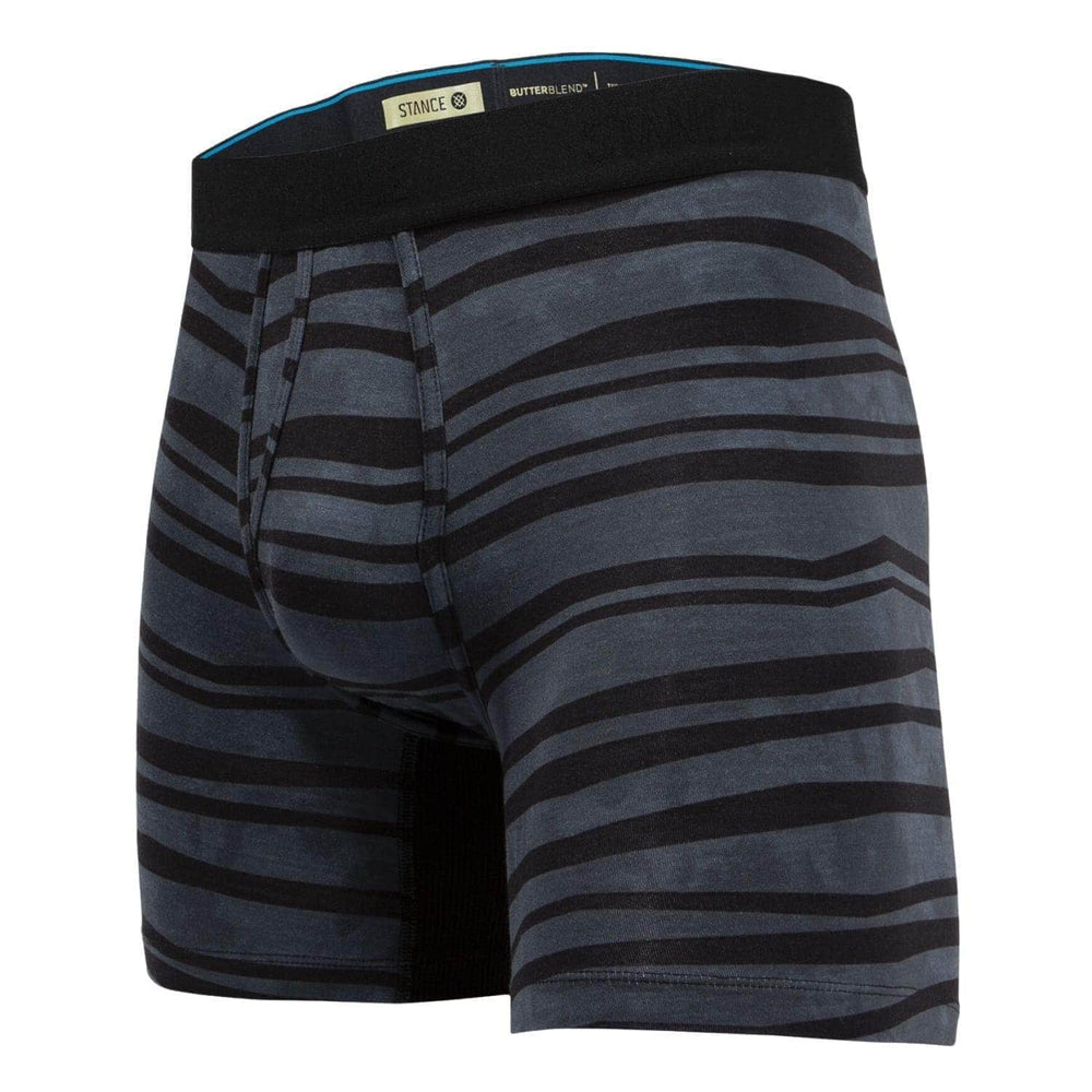 Stance Drake Boxer Brief Charcoal - Mens Boxer Briefs Underwear by Stance
