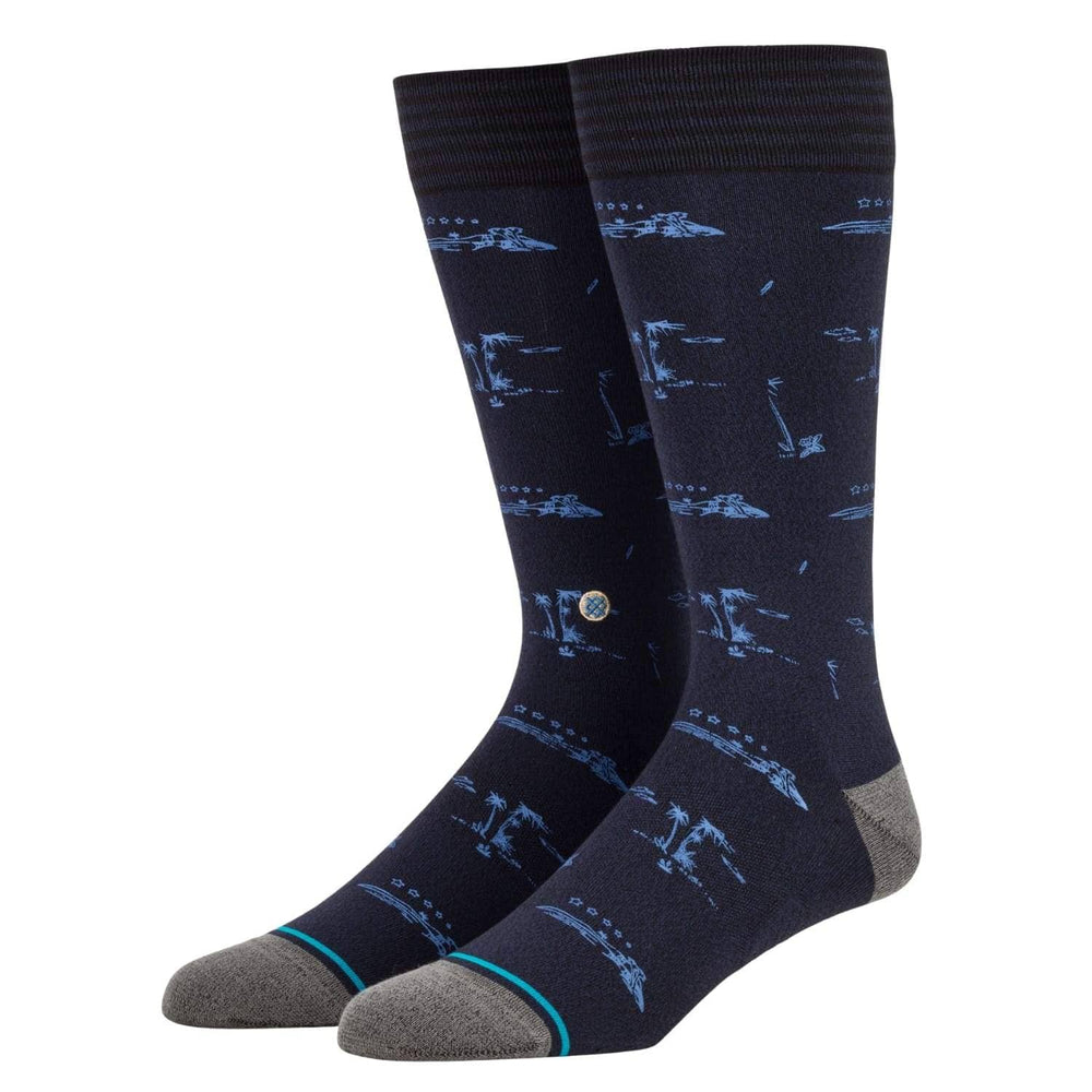 Stance Isle Tropics Butter Blend Socks - Black