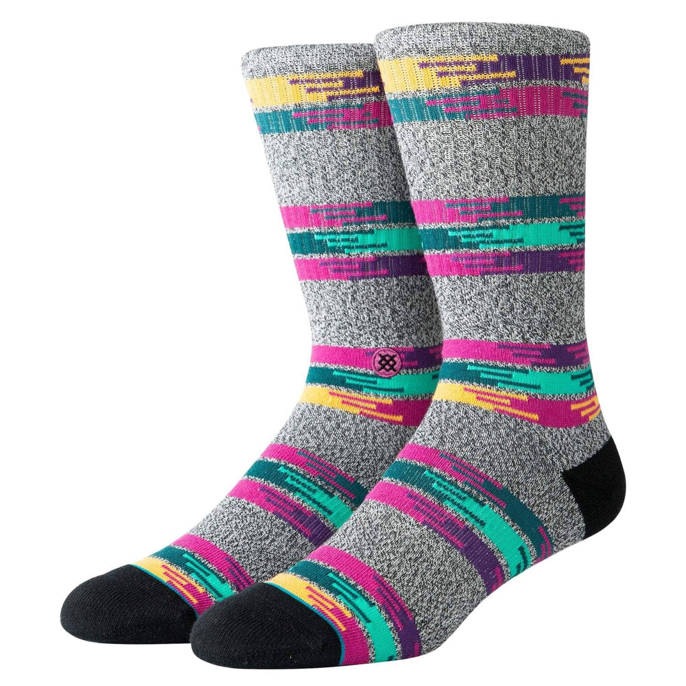 Stance Jackee Socks Grey Mens Crew Length Socks by Stance