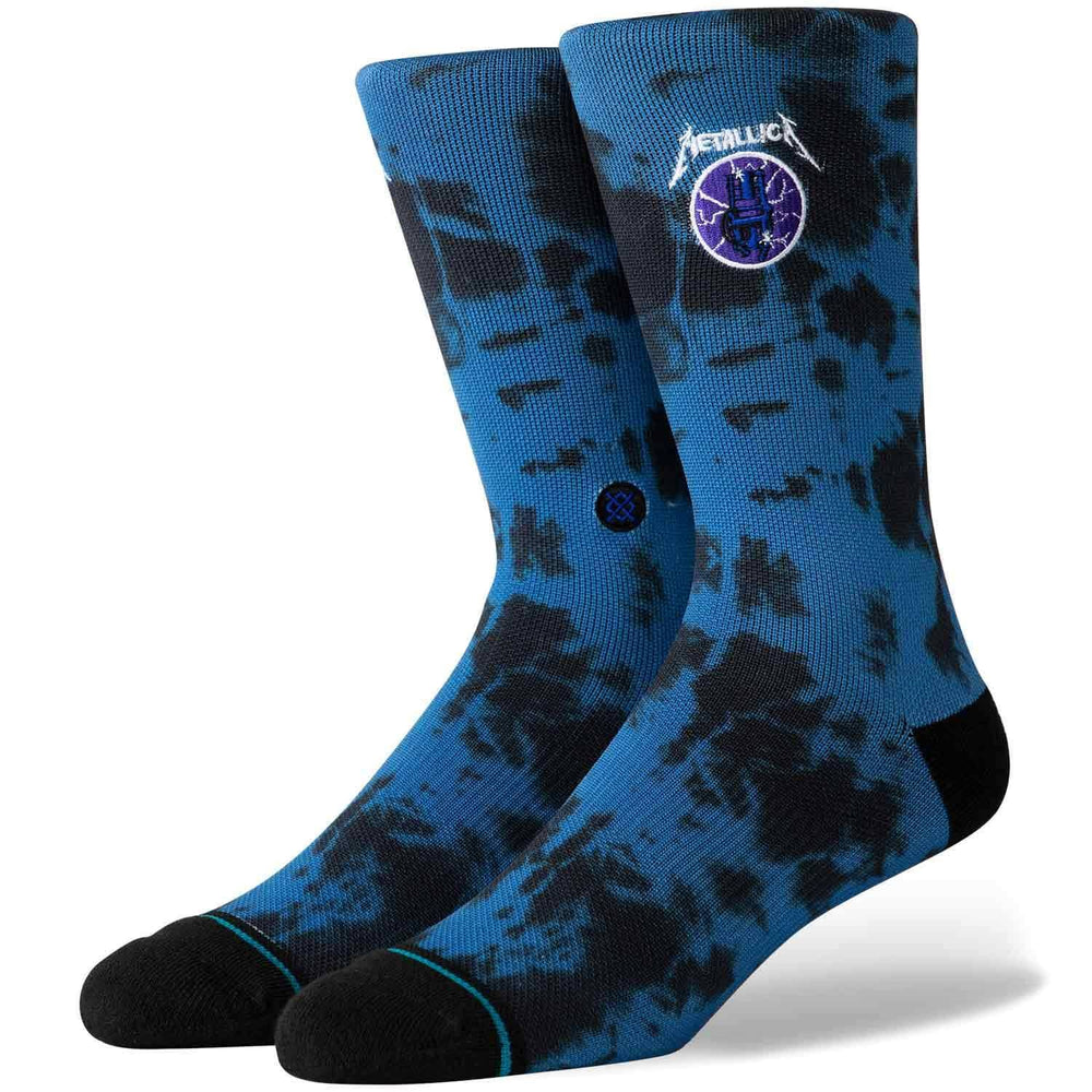 Stance Metallica Ride The Lightning Socks - Royal