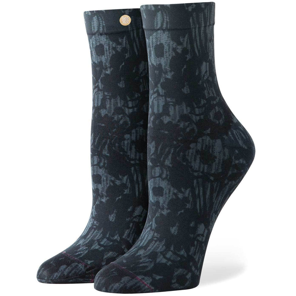 Stance Moondust Socks - White Womens Crew Length Socks by Stance O/S (one size)