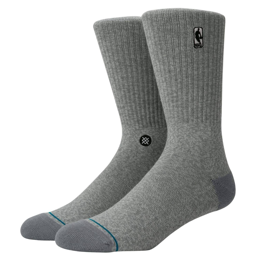 Stance NBA Logoman ST Socks - Grey Heather