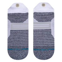 Stance Run Tab ST Socks White Mens Running/Training Socks by Stance