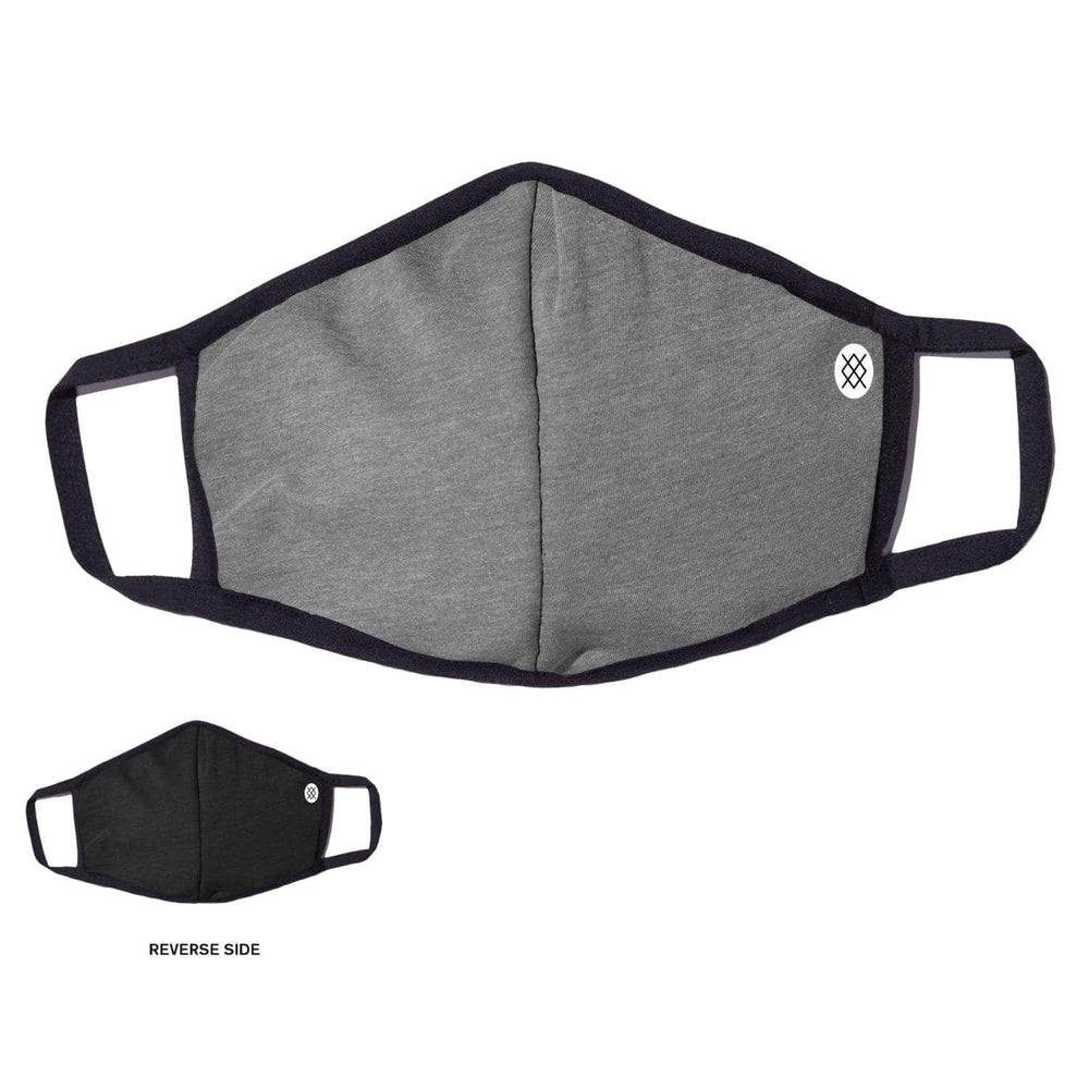 Stance Solid Face Mask - Grey - One Size