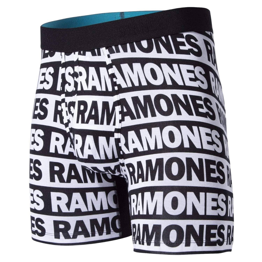 Stance The Ramones Wholester Butter Blend Boxer Brief - Black