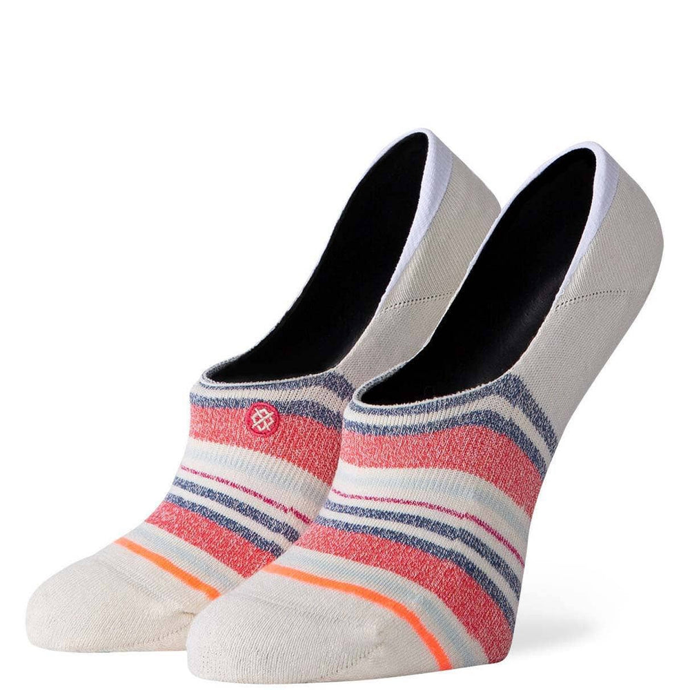 Stance Womens Crossroad Invisible Socks - Cream
