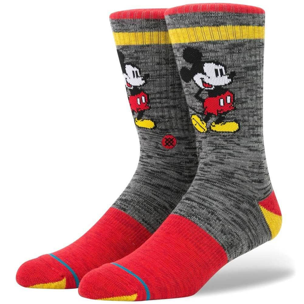 Stance x Disney Vintage Disney Socks - Black Mens Crew Length Socks by Stance L (UK8-12)