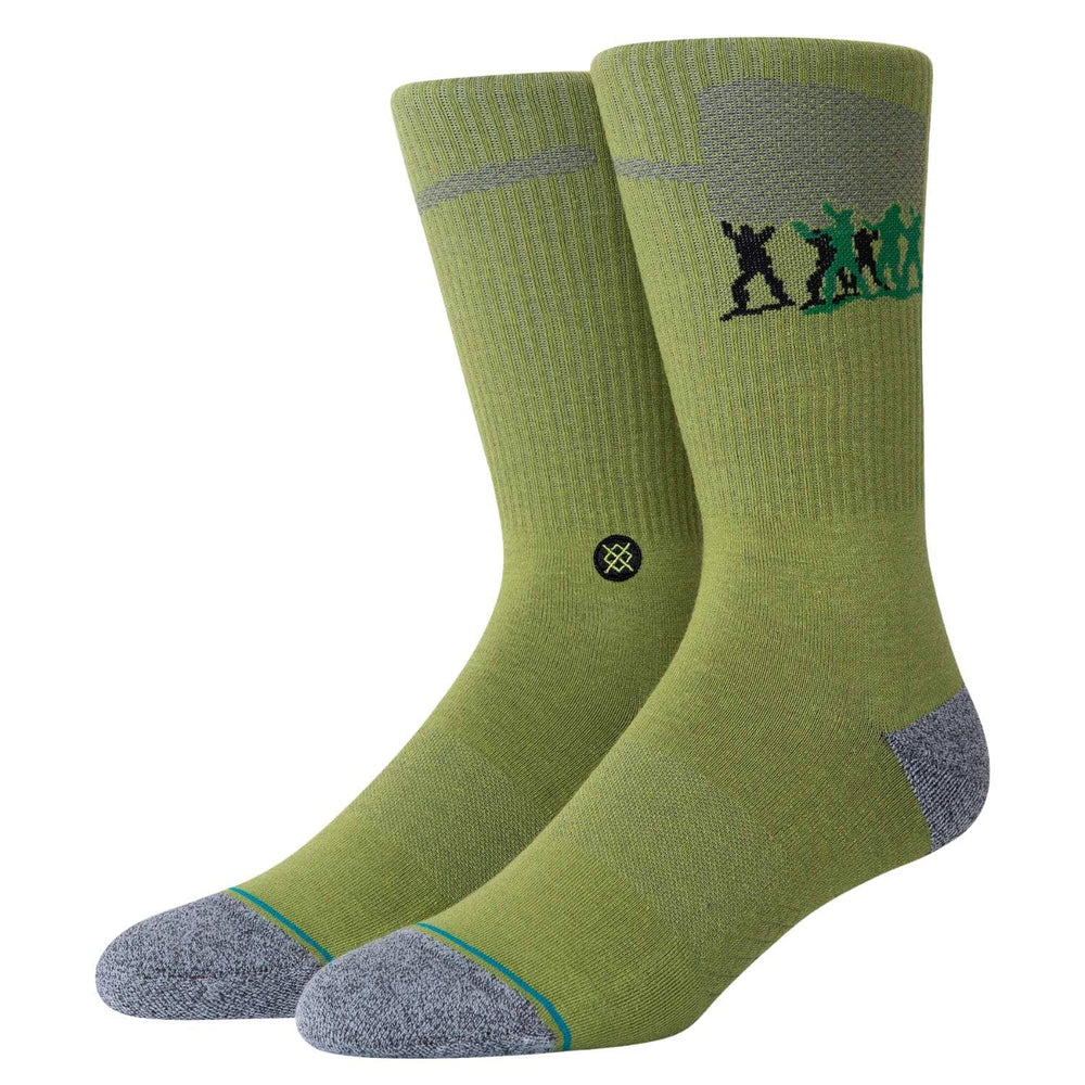 Stance x Pixar Army Men Socks - Green