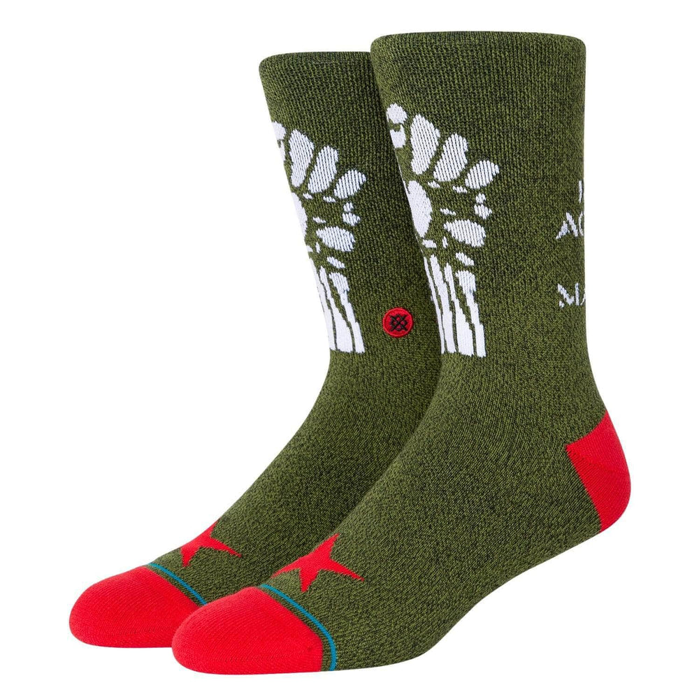 Stance x Rage Against The Machine - Renegades Socks - Army Green