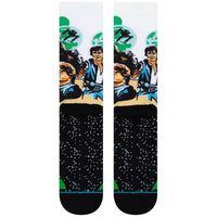Stance x Star Wars Chewbacca Socks - Green Mens Crew Length Socks by Stance